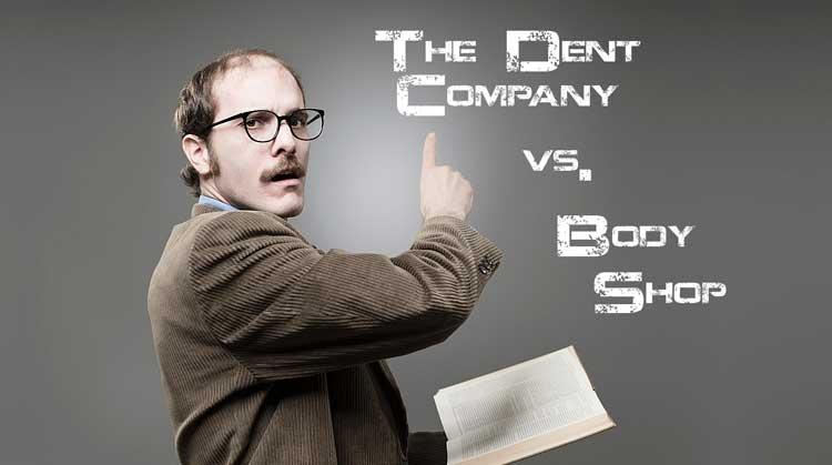 Paintless Dent Repair vs Body shop