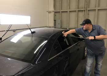 The Dent Co auto hail repair and PDR Paintless Dent Repair
