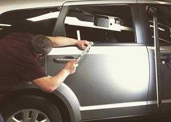 Parker auto hail damage repair estimate
