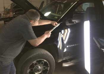 Westminster auto hail repair estimate