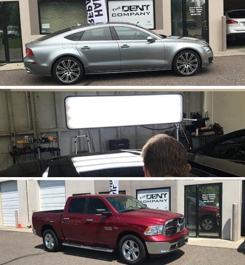 Longmont Auto Hail Repair