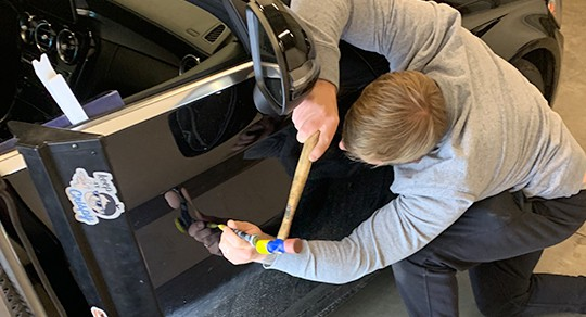 Dent Removal by The Dent Company