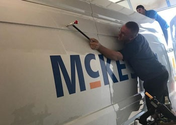 DIY dent repair