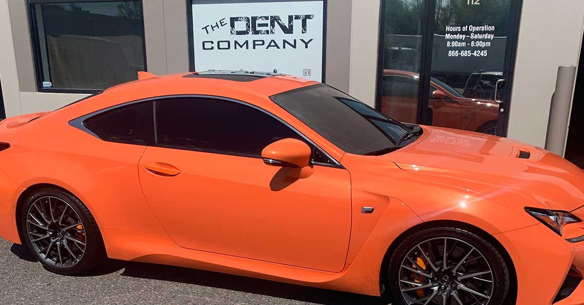 Big Spring Auto Hail Repair & Dent Removal | The Dent Company